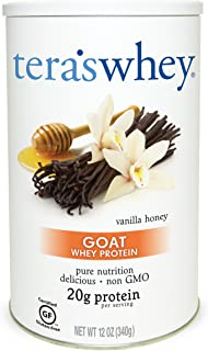 Tera's Whey Goat Protein, Vanilla Honey, 12 oz