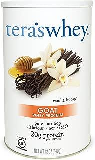 Tera's Whey Goat Protein, Vanilla Honey, 12 oz