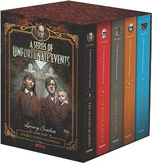 A Series of Unfortunate Events #5-9 Netflix Tie-in Box Set