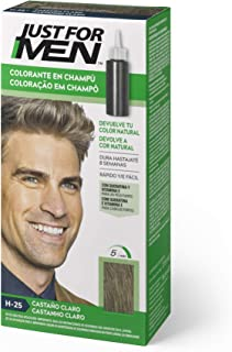 Just For Men Just For Men Tinte Colorante En Champu Para El Cabello Del Hombre. Castaño Claro 120 G
