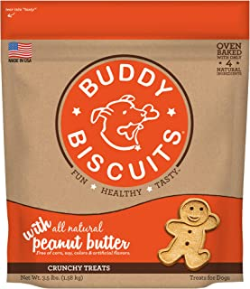 Buddy Biscuits Original Treats Peanut
