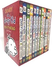 Diary of a Wimpy Kid 12 Books Complete Collection Set New(Diary Of a Wimpy Kid,Rodrick Rules,The Last Straw,Dog Days,The U...