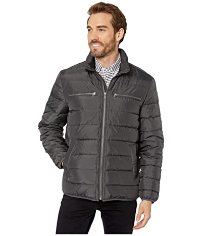 Cole Haan Packable Down Jacket (Grey) Men