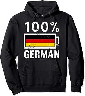 Germany Flag Hoodie | 100% German Battery Power Tee