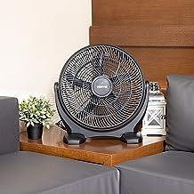 Geepas 18'' Box Fan 80W – Powerful Personal Desk Box Fan with Copper Motor | Table Fan for Office, Home (3 Speed) Fan Guar...
