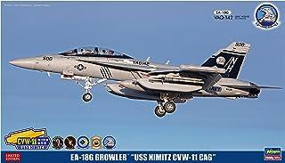 ハセガワ 1/72 アメリカ海軍 EA-18G グラウラー USS ニミッツ CVW-11 CAG プラモデル SP369