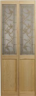 Pinecroft 861728 Giverny Half Glass Bifold Interior Wood Door 32