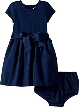 Ralph Lauren Baby - Fit-and-Flare Dress & Bloomer (Infant)