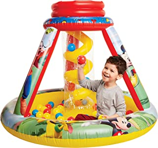 Mickey Mouse 94786 Ball Pit 1 Inflatable + 50, Soft-Flex