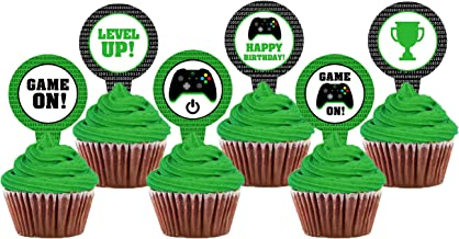 Amazon Com Minecraft Cupcake Toppers