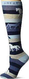 Ariat Women's Lineage Horse Knee High Socks