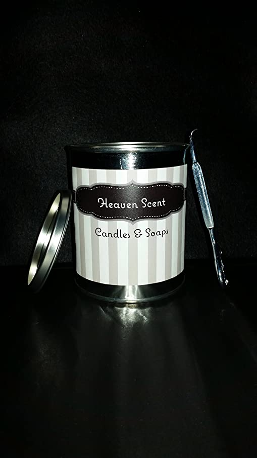 100% Soy Handmade 16 Ounce Paint Can Jar Candle (With Lid Opener) With The Fresh Air Fragrance Of Your Choice