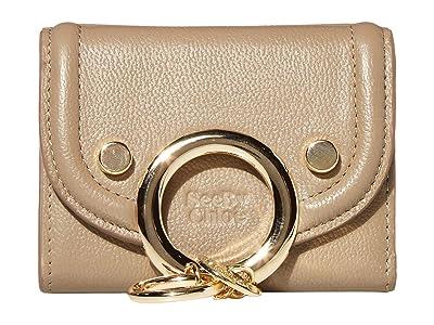 See by Chloe Mara Compact Wallet (Motty Grey) Handbags