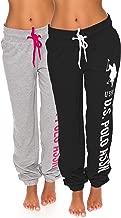 U.S. Polo Assn. Womens French Terry Jogger Lounge Sleep Sweatpants Pajamas