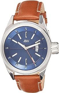 JBW Luxury Men's Rook 12 Diamonds Multi-Layer Dial Watch