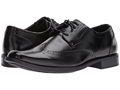 Stacy Adams Edmond Wingtip Oxford (Black) Men
