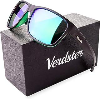 bbbdddbda6257 Verdster Mirrored Polarized Sunglasses for Men - Trendy   Stylish Sun  Shades - Hardcase   Accessories