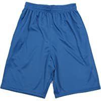 At The Buzzer Boys Athletic Mesh Basketball Sports Shorts