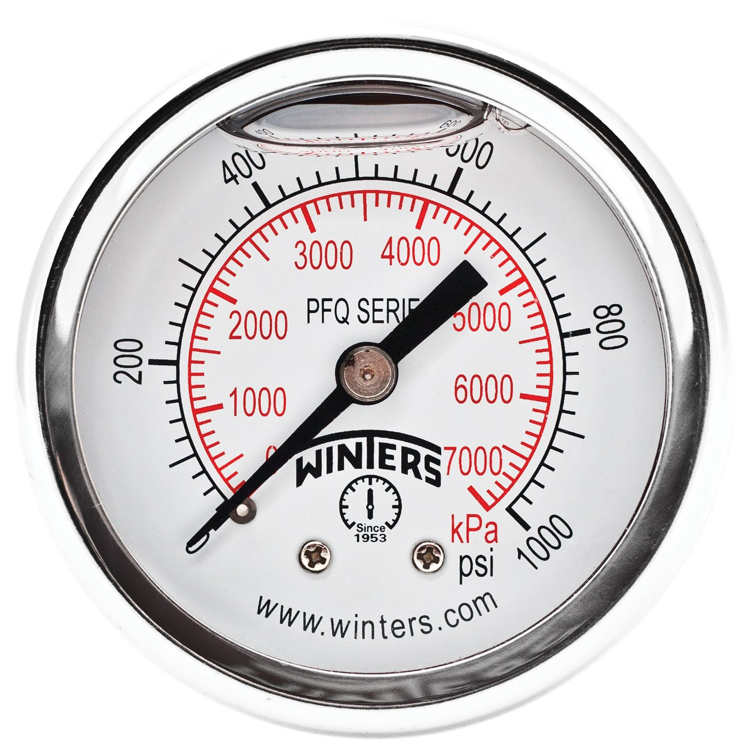 Winters wholesale PFQ Series Max 77% OFF Stainless Steel Dual Liquid Scale Filled 304