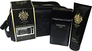 Donald Trump Empire By Donald Trump For Men Edt Spray 3.4 Oz & Shower Gel 3.4 Oz & Toiletry Bag