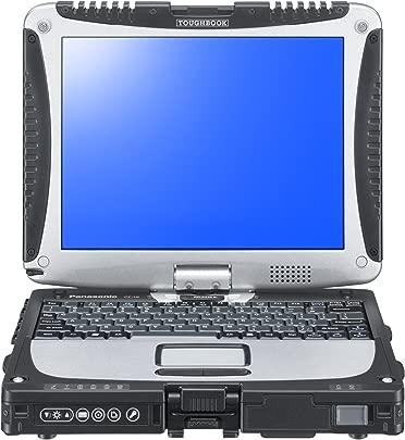 Panasonic CF-191DACHFG 25 7 cm  10 1 Zoll  Laptop  Intel Core i5 3320M  2 6GHz  4GB RAM  500GB HDD  Intel HD Graphics 4000  Win Pro  silber schwarz