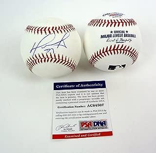 David Ortiz Big Papi Boston Red Sox Signed Autograph MLB Baseball PSA/DNA COA