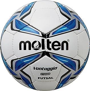 MOLTEN Synthetic Leather - Balón de fútbol Sala, Color Blanco