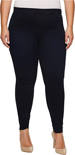 Plus Size Ankle Jean-Ish Leggings