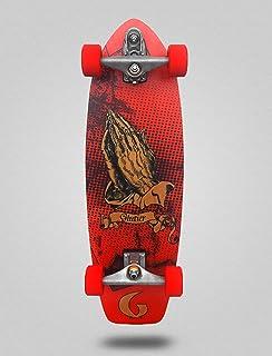 Glutier Surfskate Miracle Red 31 Surf Skate Trucks...