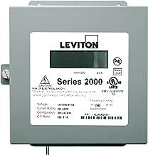 Leviton 2N208-21 Sub-Meter Series 2000 Three Element Meter 200:0.1A ratio, Max 200A Indoor Surface Mount Enclosure