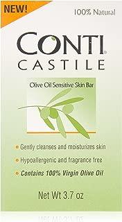 SPECIAL Pack of 5 -CASTILE SOAP CONTI 3.7 oz NUMARK LABORATORIES INC.