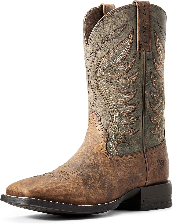 ARIAT Men's Amos Sale SALE% 1 year warranty OFF Boot Western