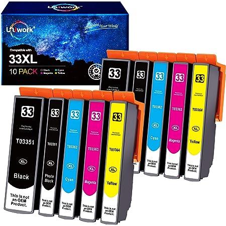 Tito Express Platinumserie 10 Patronen Xxl Kompatibel Mit Epson T3351 T3364 33xl Für Expression Premium Xp 640 Xp 900 Xp 645 Xp 540 Xp 7100 Xp 630 Xp 635 Xp 830 Xp 530 Bürobedarf Schreibwaren