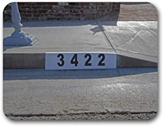 Reusable Curb Address Number Stencil, Customized for You!
