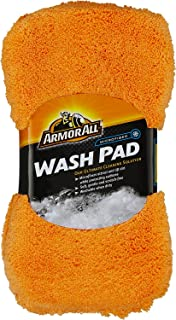 Armor All Microfiber Car Wash Pad, Cleaner for Bugs or Dirt, for Cars & Truck & Motorcycle, 17615