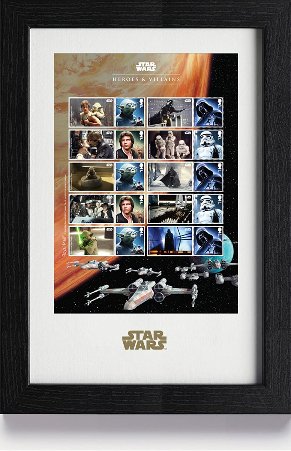 Star Wars N3078 2015 Framed Collector Sheet