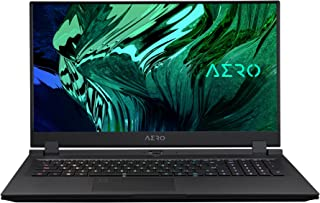 Gigabyte AERO 17.3 Inch Creator Laptop, NVIDIA GeForce RTX 3080 (16GB), UHD HDR, Intel i9-11980HK, 512GB + 1TB PCIe, Windo...