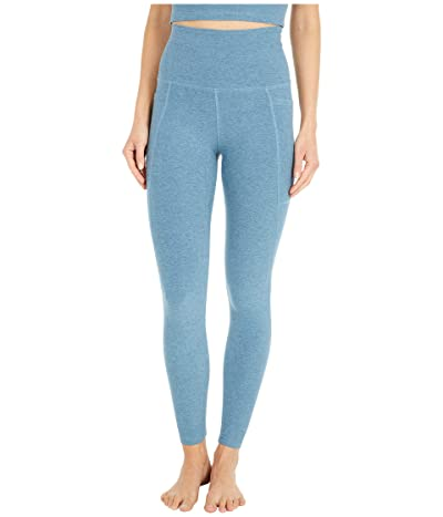 Beyond Yoga Spacedye High Waisted Pocket Midi Legging (Stormy Blue) Women