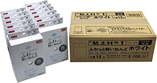 Daiso Soft Clay Pack of 12 (White)