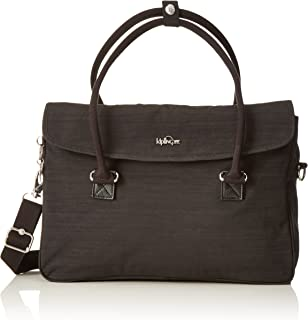 Kipling Superwork S, Briefcase, Black (Dazz Black), 38 cm, 11 liters