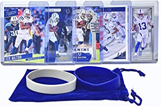 T. Y. Hilton Football Cards (5) Assorted Bundle - Indianapolis Colts Trading Card Gift Set