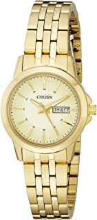 Citizen Women's Quartz Watch Analogue Display Quartz Stainless Steel