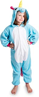 Emolly Fashion Kids Animal Unicorn Pajama Onesie - Soft and Comfortable with Pockets