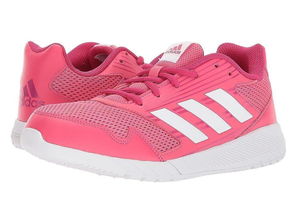 adidas Kids AltaRun (Little Kid/Big Kid) (Pink/White/Vivid Berry) Girls Shoes