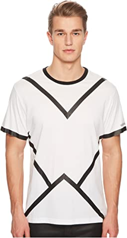 Versace Jeans - Black Line Tee Shirt