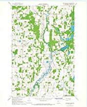 Historic Pictoric - Minnesota Maps - 1966 Browerville, MN USGS - Topographic Wall Art : 24in x 30in