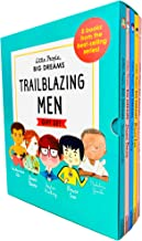Little People, Big Dreams Trailblazing Men 5 Books Collection Box Gift Set (Muhammad Ali, David Bowie, Stephen Hawking, Br...