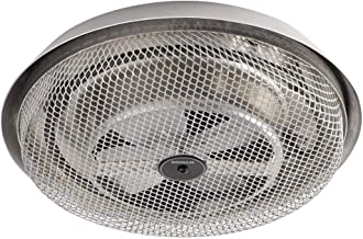 Broan-NuTone 157 Low-Profile Fan-Forced Ceiling Heater, Aluminum with Enclosed Sheath..