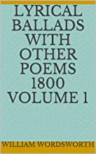 Lyrical Ballads with Other Poems 1800 Volume 1