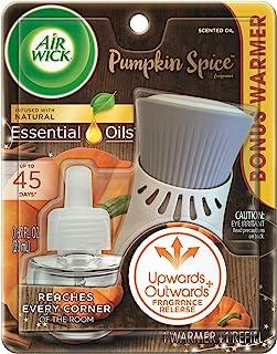 Airwick Pumpkin Spice Refill and Warmer